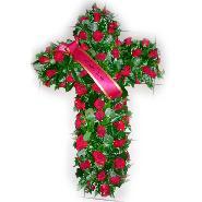 croix rose