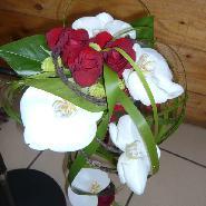 bouquet mariée chute