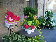 4 modules jardinières fleur