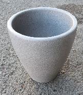 Cache pot gris