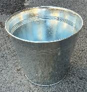 Cache pot zinc 21.5 cm