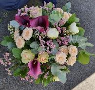 bouquet champêtre prune