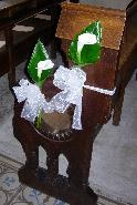 decoration banc eglise